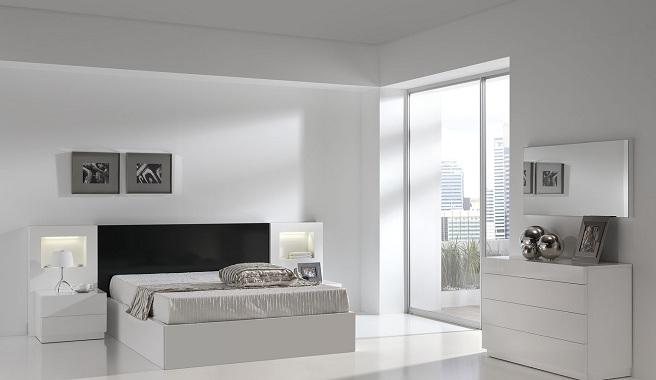 De qu color pinto mi recamara habitaciones en blanco for Pisos para dormitorios modernos
