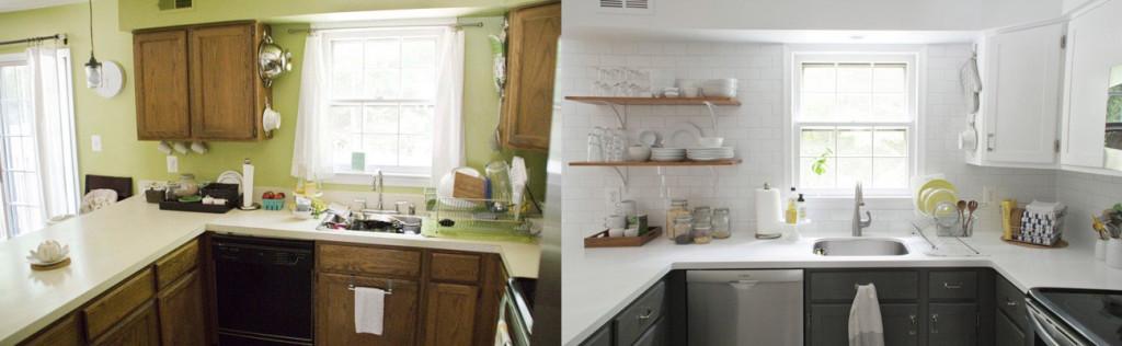 Antes y despu s estrena tu cocina sin tener que cambiar - Pintar muebles de cocina antes y despues ...