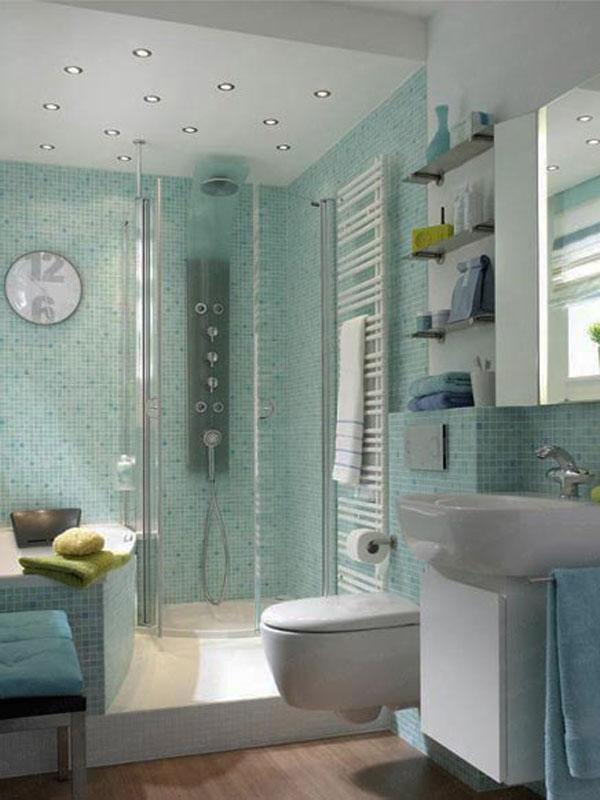 Muebles De Cocina Diseño: Small Bathroom Design Ideas.