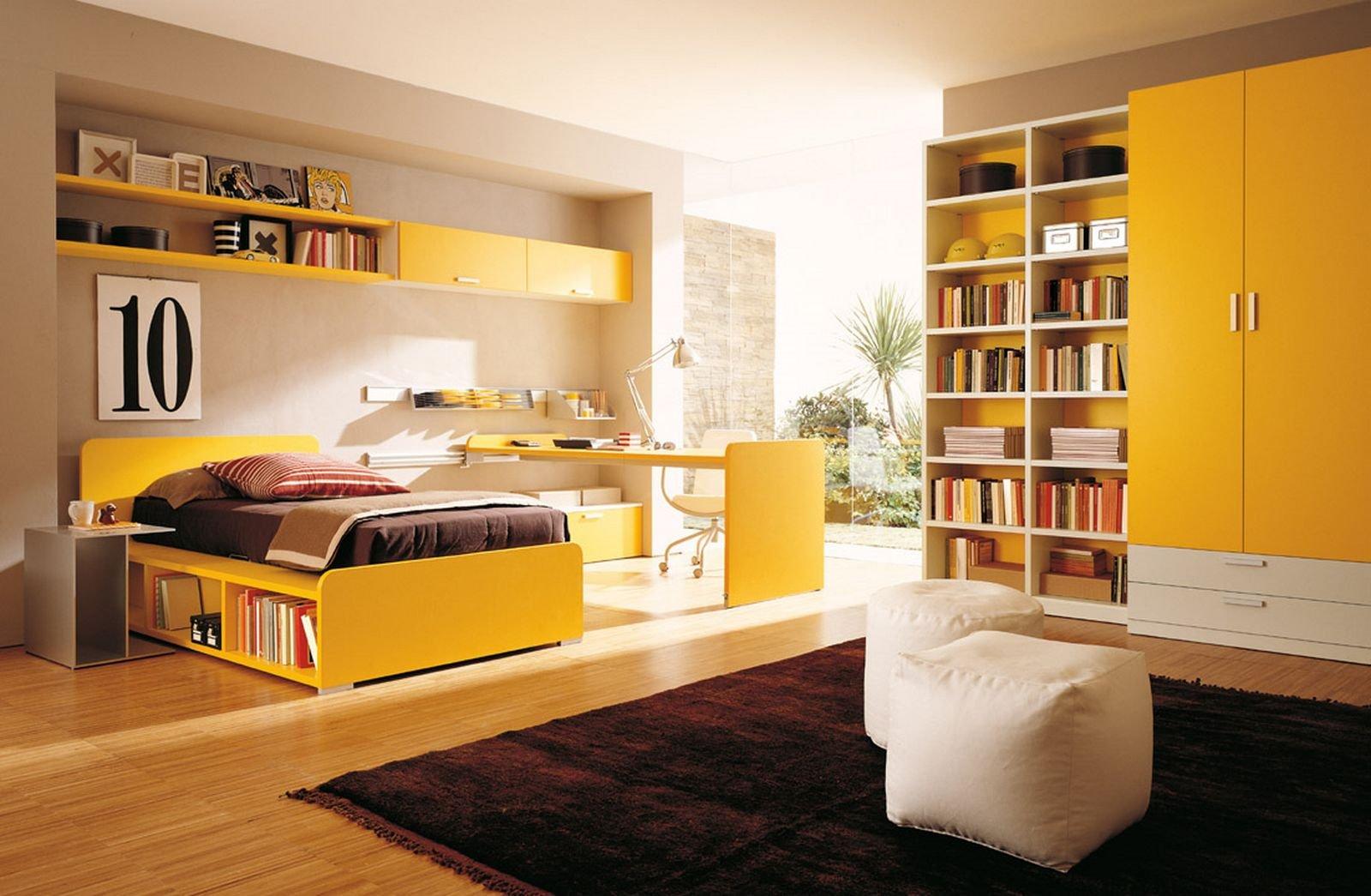 De qu color pinto mi recamara habitaciones color - Habitaciones amarillas ...