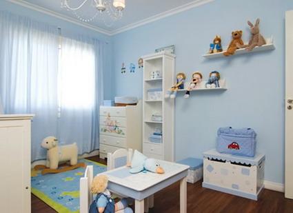 De qu color pinto mi recamara habitaciones en azul blog citypaint blog citypaint - Habitacion para 2 ninos ...