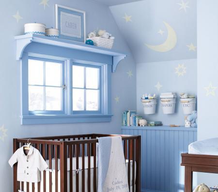 De qu color pinto mi recamara habitaciones en azul - Pintura para dormitorios infantiles ...