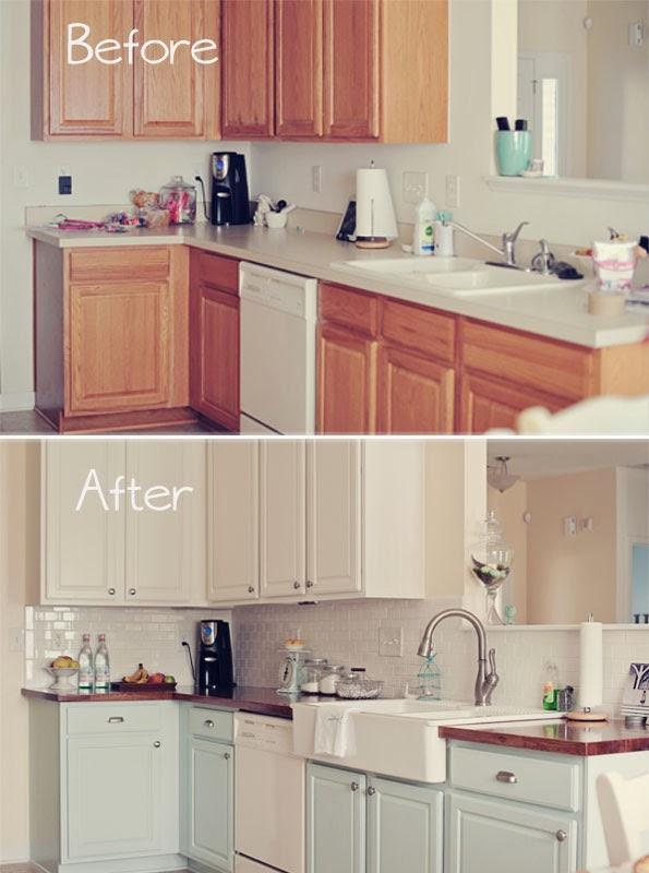 Antes y después: cocina totalmente renovada con pintura – Blog ...