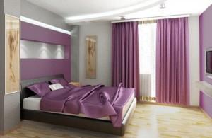 Violeta y gris