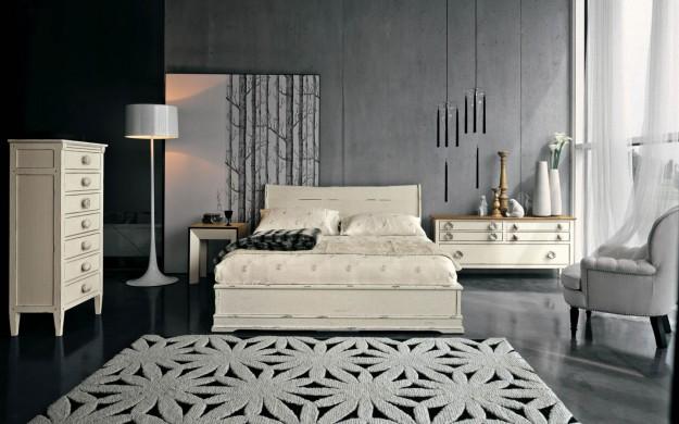 De qu color pinto mi recamara habitaciones en gris for Habitaciones pintadas en gris azulado
