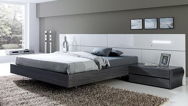 De qu color pinto mi recamara habitaciones en gris for Cuarto azul con gris