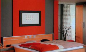 habitacion-naranja-y-gris