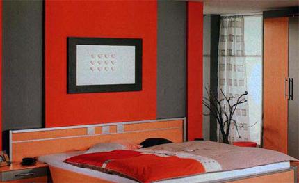 De qu color pinto mi recamara habitaciones en gris blog citypaint blog citypaint - Habitaciones color naranja ...