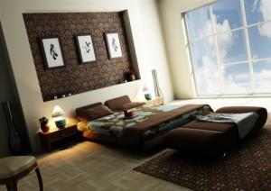 dormitorio-color-chocolate