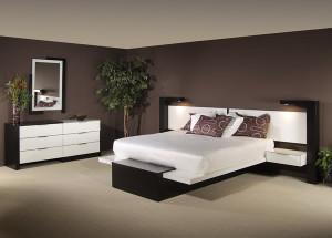 dormitorio-marron-chocolate